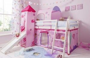 Kinderhochbett für Mädchen